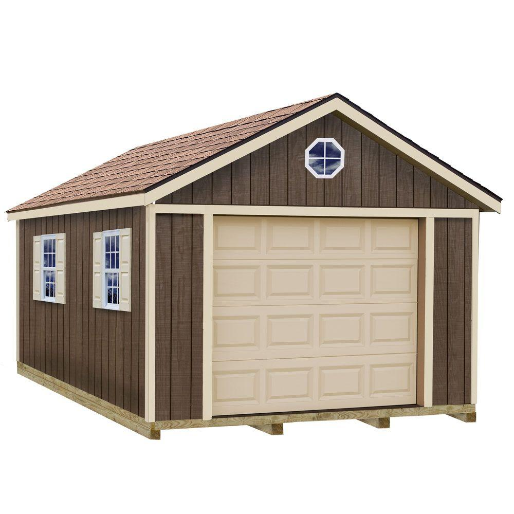 Best Barns Sierra 12X16 Wood Garage
