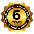 6 year limited warranty